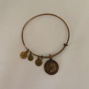 Alex and Ani Saint Anthony Guide My Way Bracelet